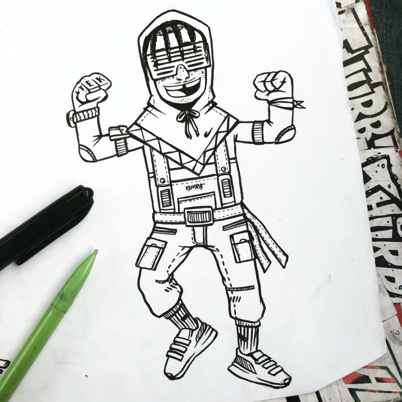 Illustration D5A4xs WkAAPuBj min – THURB