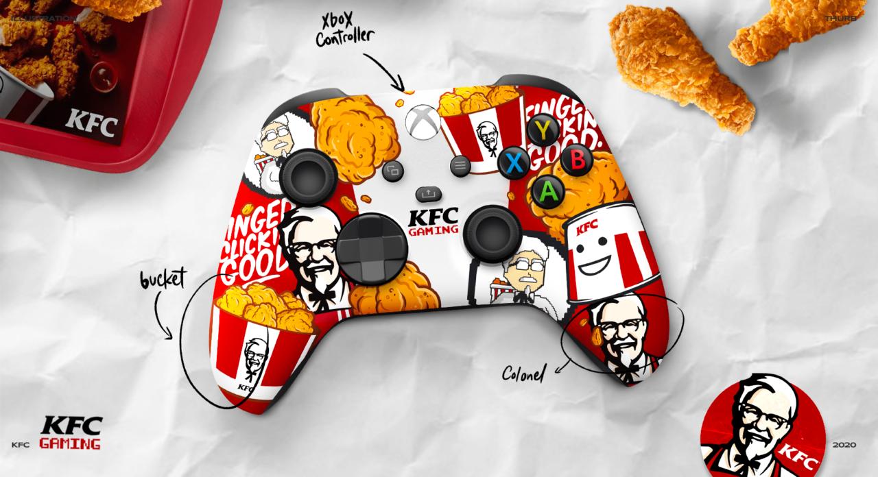 Illustration KFC GAMING 1 min – THURB