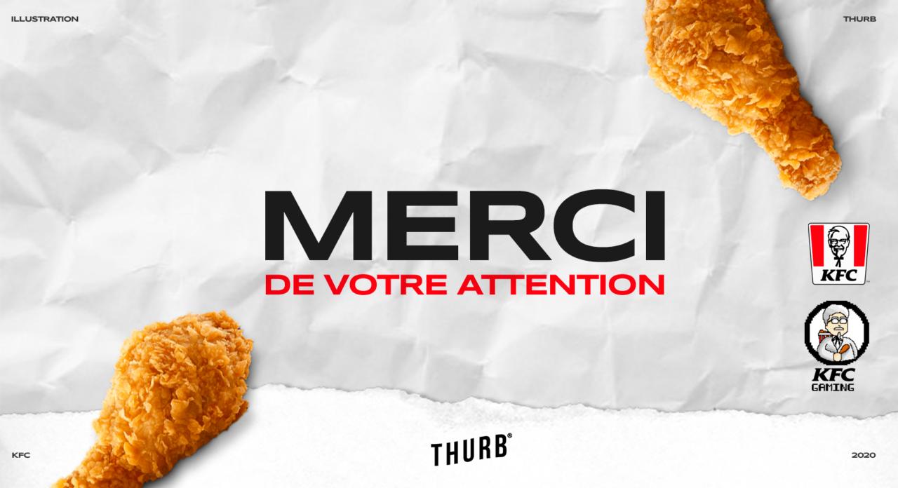 Illustration KFC GAMING 6 min – THURB